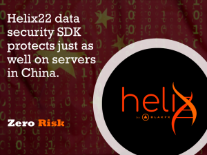 Helix22 is the world's foremost B2B and B2G data security product.